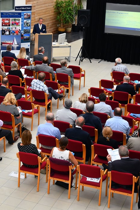 Following the survey a number of stakeholders met with the Port at its Annual Stakeholder Meeting where they had an opportunity to ask questions of the management team and board.